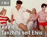 Elvis Presley tanzt mit Frauen