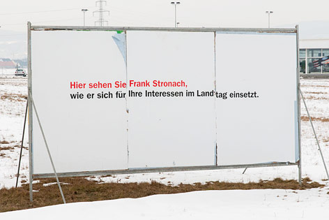 Wahlplakat der ÖVP