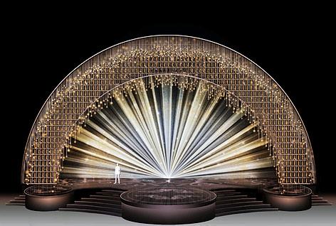 Set design für die diesjährige Oscar-Verleihung