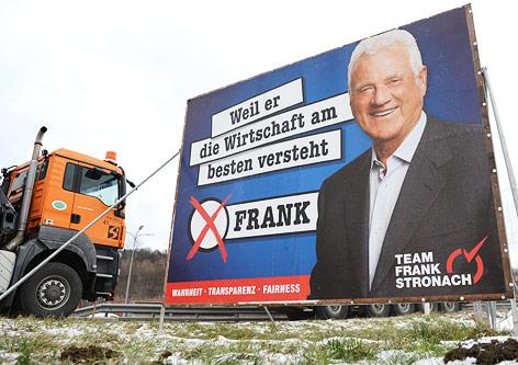 Team-Frank-Stronach-Wahlplakat in Niederösterreich