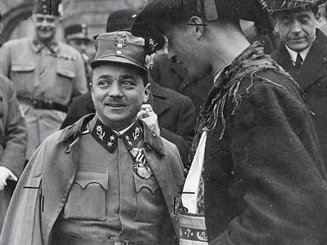 Österreichs Bundeskanzler Engelbert Dollfuß in den frühen 30er-Jahren