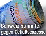 Geldscheinrolle mit Schweizer Franken