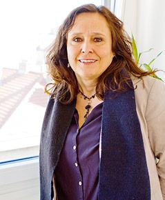 Andrea Brem, Sozialarbeiterin und Leiterin der Wiener Frauenhäuser