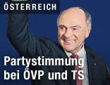 Wiedergewählte Landeshauptmann von Niederösterreich Erwin Pröll