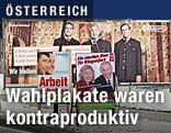 Wahlplakate in Kärnten