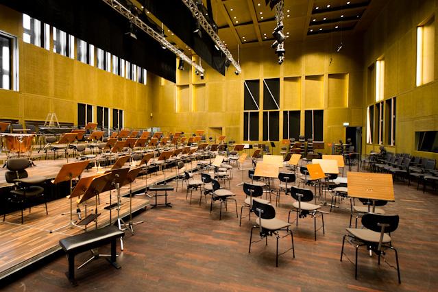 Infrastruktrur im Musiktheater Linz
