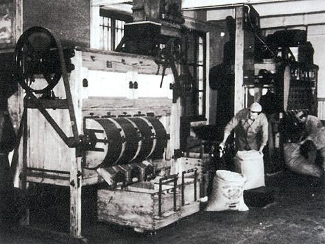 Pierre Paul Caffarels Schokoladenfabrik