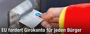 Abhebung am Bankomat