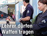 Security vor US-Schule