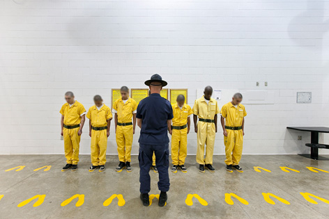 Gefangene in US-Jugendstrafanstalten
