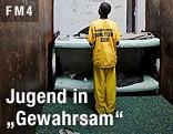 Junger Gefangener in US-Jugendstrafanstalt