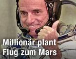 Amerikanischer Weltraumtourist Dennis Tito