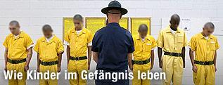 Gefangene in US-Jugendstrafanstalt