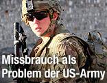 Soldatin der US-Armee