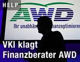 Logo des Finanzdienstleisters AWD