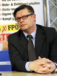 FPÖ Kärnten-Landesobmann Christian Leyroutz