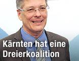 Designierter Landeshauptmann von Kärnten Peter Kaiser