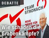 Team-Stronach-Parteiplakate