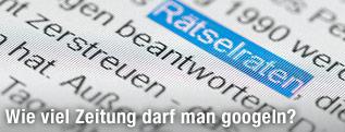 Unterlegter Text auf einer Website