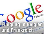 Logo von Google Frankreich