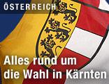 Landesflagge von Kärnten