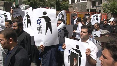 Demonstration im Iran