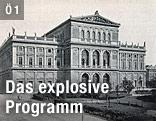 Historsische Aufnahme des Wiener Musikvereins