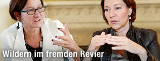 Innenministerin Johanna Mikl-Leitner, Frauenministerin Gabriele Heinisch-Hosek
