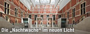 Atrium des Reichsmuseums in Amsterdam