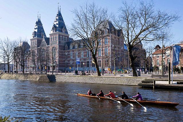 Außenansicht des Amsterdamer Reichsmuseums