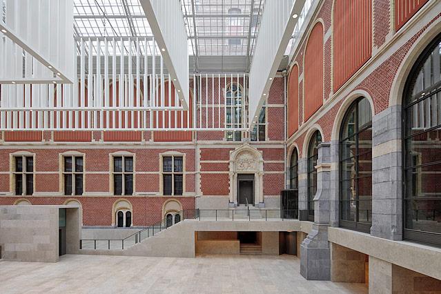 Eingangsbereich des Amsterdamer Reichsmuseums