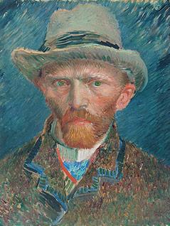 Selbsporträt von Vincent van Gogh