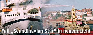 "Nordsee-Fähre ""Scandinavian Star"""