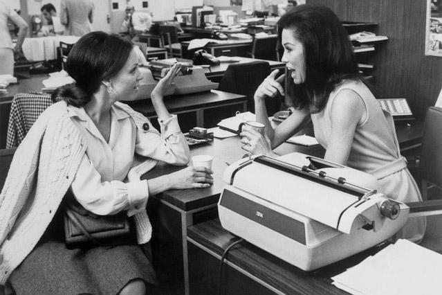 Mary Tyler Moore und Valerie Harper