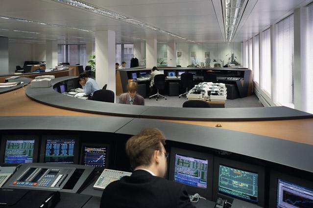 Büro der Hypo.Bank in London