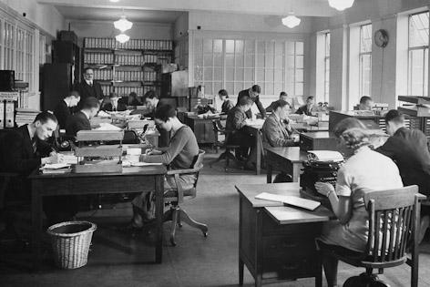 BBC-Büro 1932