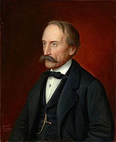 Bildnis des Hubert Sattler (1875) von Sebastian Stief
