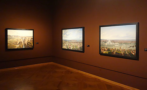Ausstellungsansicht im Wien Museum
