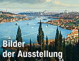"""Ausschnitt des Gemäldes """"Istanbul"""" von Hubert Sattler"""