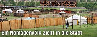 Siedlung bei Ulan Bator