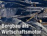 Bergbau in Mongolei