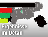 Landkarte von Tirol