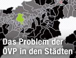 Grafik zur Wahl in Tirol