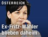 Spitzenkandidatin der List Fritz Andrea Haselwanter-Schneider