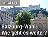 Kapitelplatz und Festung Hohensalzburg