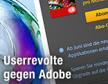 Screenshot adobe.com