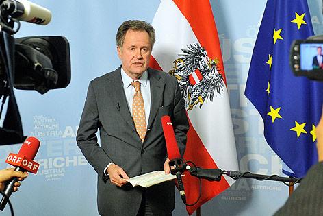 Der Generalsekretär im Außenministerium, Johann Kyrle