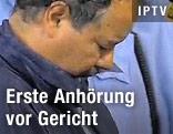 Der mutmaßliche Entführer Ariel Castro vor Gericht