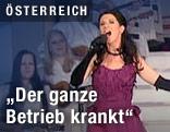 Mezzosopranistin Elisabeth Kulman auf der Bühne