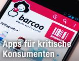 Handy mit App